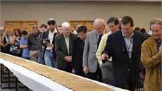 DTS Welcomes a Torah Scroll