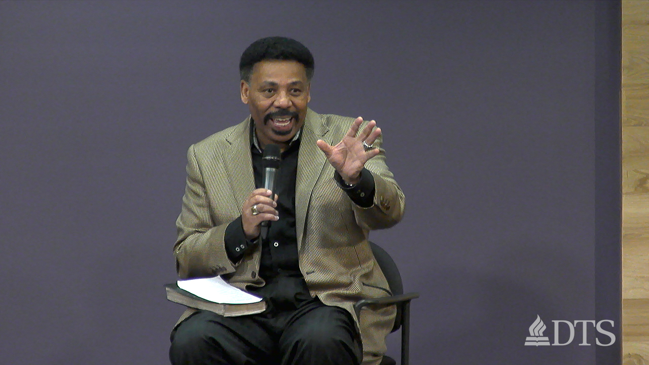 Question & Answer with Dr. Tony Evans Day At DTS with Tony Evans