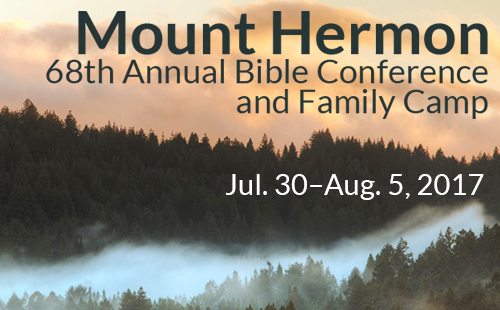 Register for Mt. Hermon Bible Conference & Camp