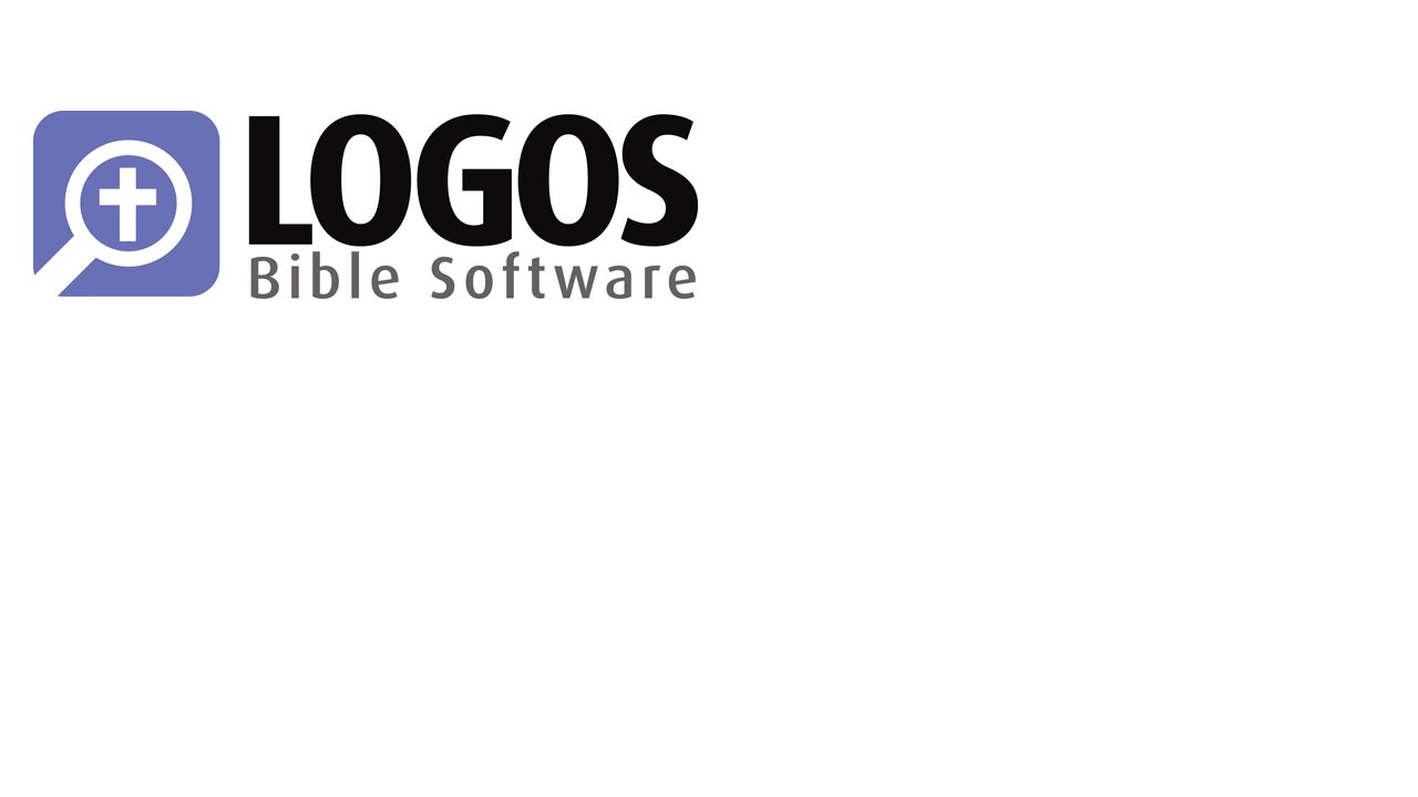Review of Logos Bible Software